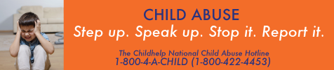 child abuse - speak up