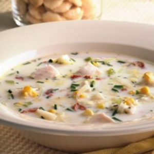 Talipia Corn Chowder